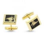 Altın Kol Düğmesi (3)